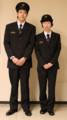 岡山電気軌道 制服
