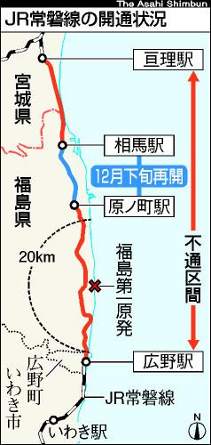 常磐線 運行 再開 状況 (あさひ)