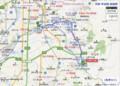 京阪 宇治線 路線図 (あきひこ) 733‐528