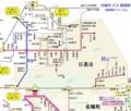 日進市 バス 路線図 (路線図ドットコム)