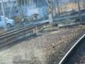 120108 三岐鉄道 (10) 8:41 ひだりは 関西線の 線路