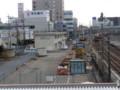 120108 北勢線 (2) 11:44 桑名駅 こ線橋から みる 西桑名駅