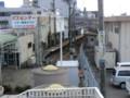 120108 北勢線 (5) 13:11 連絡 通路から みおろす 西桑名駅