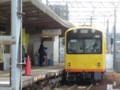 120108 北勢線 (6) 13:11 西桑名に はいって きた 電車
