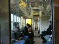 120108 北勢線 (10) 13:15 西桑名の 阿下喜 (あげき) いき 電車内