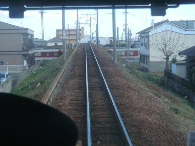 120108 北勢線 (20) 13:39 近鉄線、関西線を またぐ
