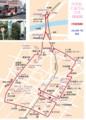 六万石くるりんバス 市街地線 路線図 (2010年 7月 改正) 572-800