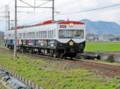 近江鉄道 パトカー 電車 (京都新聞)