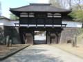 120512 軽井沢から (27) 9:05 懐古園 三の門