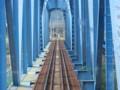 120512 軽井沢から (96) 13:44 しなの鉄道 千曲川 鉄橋