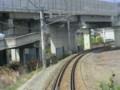120512 軽井沢から (97) 13:45 しなの鉄道 長野新幹線を くぐり 篠ノ井へ