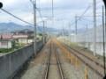 120512 軽井沢から (98) 13:45 しなの鉄道 長野新幹線と 並走し 篠ノ井へ