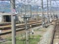 120512 軽井沢から (99) 13:46 しなの鉄道 篠ノ井線と 合流