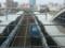 120528 米野 (57) 15:11 ささしまライブ 2階 コンコースから みる 貨物 列車