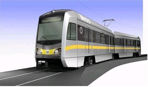 近畿車両 ロサンゼルス郡都市圏交通局 納入 車両