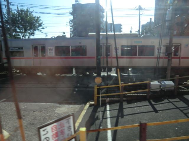 120704 近江鉄道 (1) 7:26 名鉄 神宮前 ふみきり