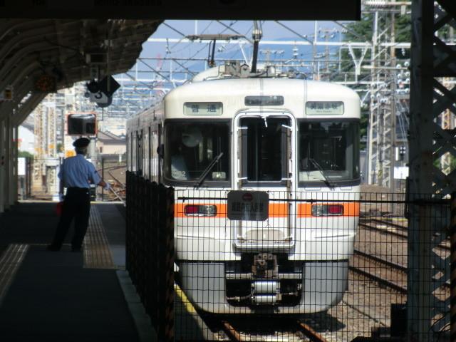 120704 近江鉄道 (6) 8:33 大垣 美濃赤坂 いき ふつう