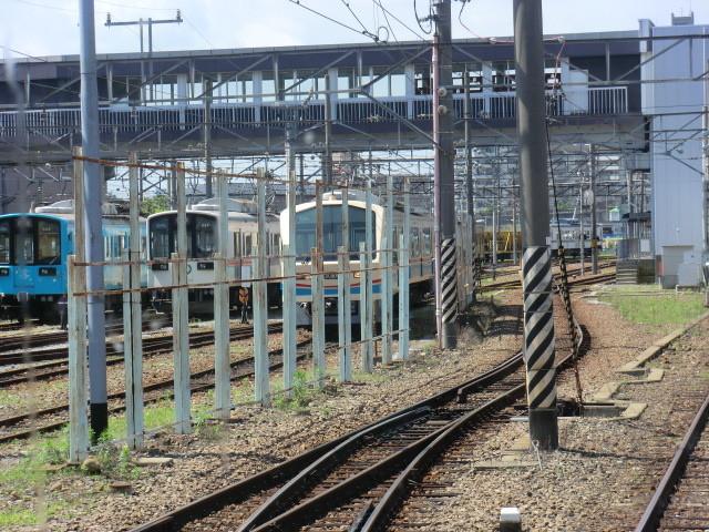 120704 近江鉄道 (12) 9:44 彦根 車両 基地