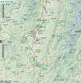 飯伊 地域 地図 (14自治体) (あきひこ)