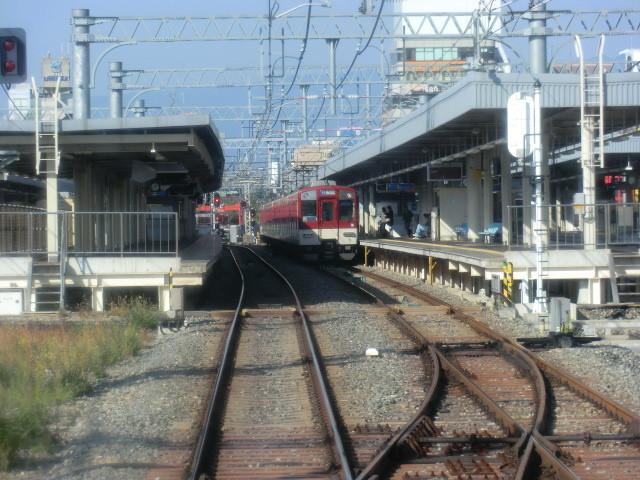 20121107 粟生線 (9) 9:39 尼崎 到着