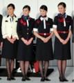 JALの あたらしい 制服 (あさひ) (竹谷俊之氏 さつえい)