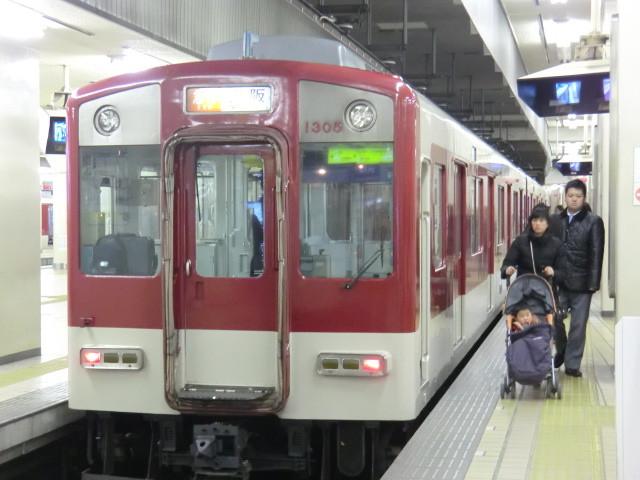 130110 弥富から 名鉄で (4) 14:47 近鉄名古屋 松阪 いき 急行