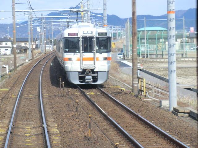 130225 美濃赤坂 (1) 11:29 東海道線 木曽川 きょうりょう てまえ