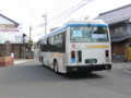 130225 美濃赤坂 (32) 13:22 赤坂宿 中山道を いく バス