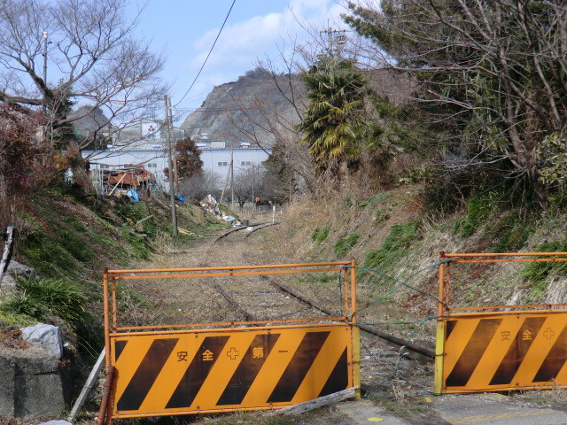 130225 美濃赤坂 (35) 13:34 貨物線 廃線 ふみきり きた