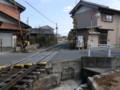 130225 美濃赤坂 (40) 13:48 赤坂宿 谷汲街道 貨物線 ふみきり 東南