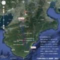 八木新宮特急バス 路線図 (推定)