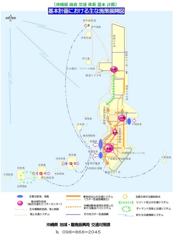 沖縄県 総合 交通 体系 基本 計画 (2012年 3月)