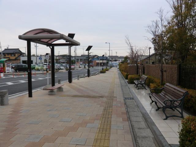 130313 刈谷市公共施設連絡バス (3) 14:49 野田新町駅南口 バス停