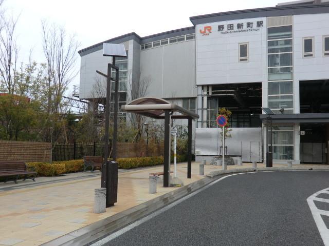 130313 刈谷市公共施設連絡バス (5) 14:51 野田新町駅南口 バス停