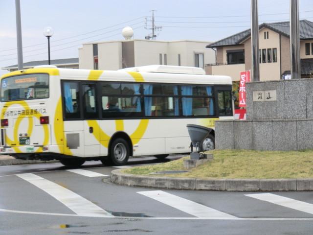 130313 刈谷市公共施設連絡バス (12) 15:16 野田新町駅北口 バス停