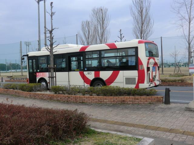 130313 刈谷市公共施設連絡バス (18) 15:30 ミササガパーク バス停