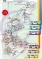 刈谷市公共施設連絡バス 路線図