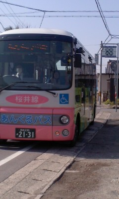 130319 安城更生病院 (3) 9:37 古井町内会 バス停