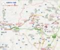 笠間市の 地図 (あきひこ)