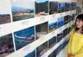 松阪市の 新竹商店で 紀勢線 写真展 (ちゅうにち)