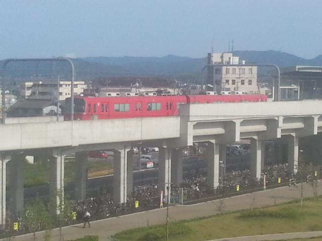 20130630 16:21 桜井を でた あかい 電車