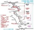 JR 奈良線 複線化 路線図 (2013.6.19 JR西日本 発表)