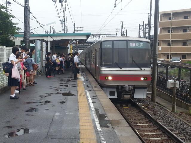 2013-07-04 07:34 碧海古井 弥富 いき ふつう