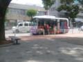 2013-07-11 12:27 市役所前 バス停 あんくるバス 西部線 バス