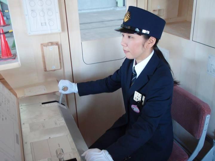 仙台地下鉄 運転士 吉沢紀子さん (フェースブック 2013.6.28)