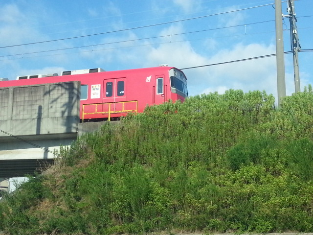 2013-08-03 16:28 北安城-南安城間 みなみ いき 電車