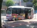 2013-08-12 12:28 あんくるバス 市役所前 バス停 西部線 バス