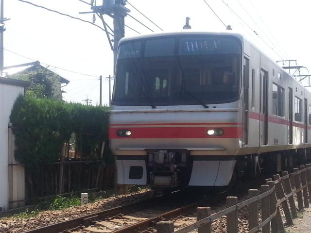 2013-08-14 11:41 碧海古井 通過 吉良吉田 発 佐屋 いき 急行
