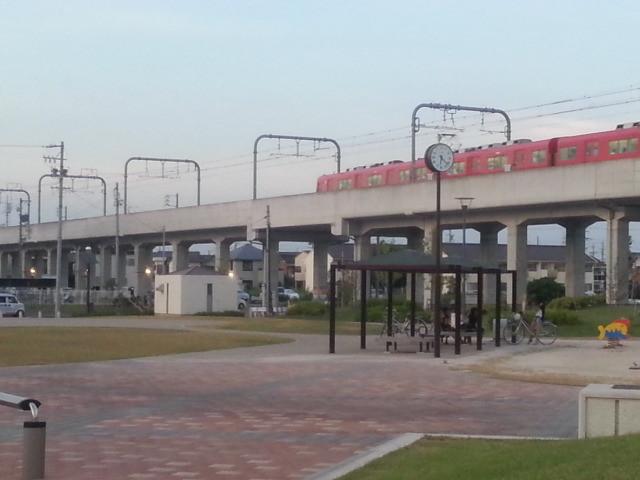 2013-08-22 18:22:13 桜井を でた 新安城 いき ふつう