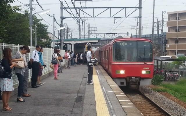 2013-09-11 07:21:42 碧海古井 名鉄岐阜 いき ふつう